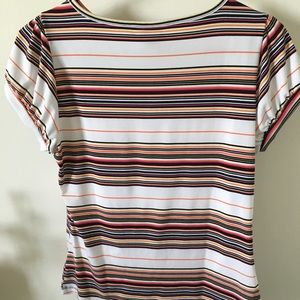Silky womens blouse size 4p in petite.